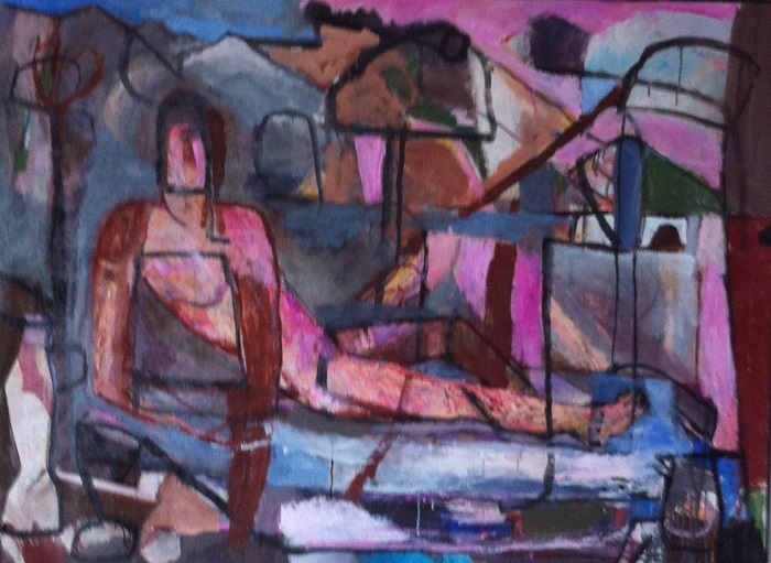 Femme dans le paysage